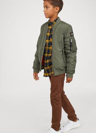 Новые коттоновые брюки h&m швеция