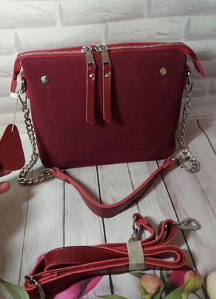Кожаная женская сумка шкіряна жіноча клатч кожаный