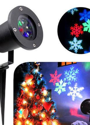 Лазерный проектор Star Shover COLOR Snowflake № WP2