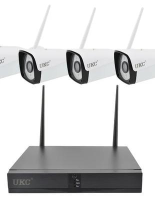 Набор видеонаблюдения (4 камеры) WiFi kit, Регистратор + 4 камеры