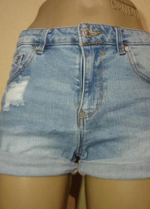 Короткие шорты pull&bear размер xs s