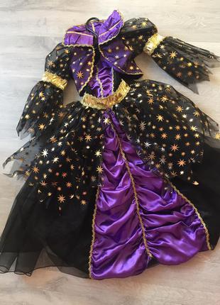 Детский карнавальный костюм ночь
