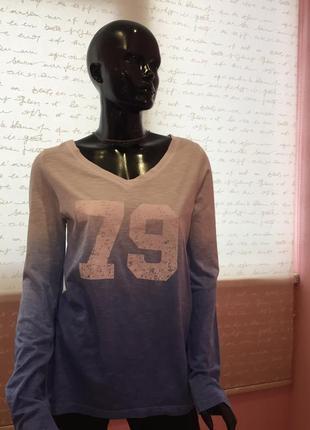 Свитшот, свитер 79, цвет с переходом амбре кофта американского...