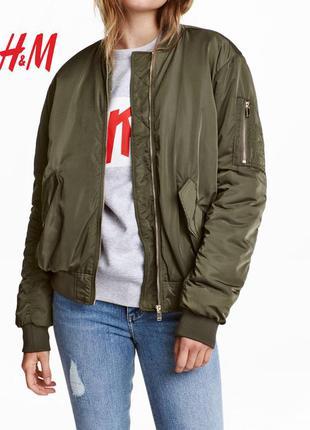 Куртка/бомбер h&m