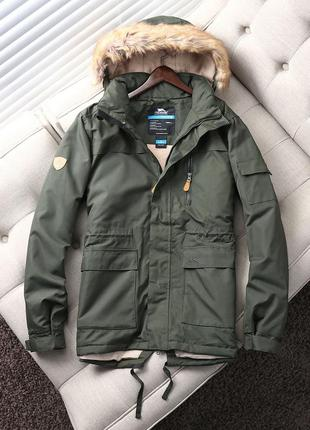 Зимняя куртка trespass (технология утепления coldheat )