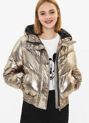 Bershka куртка утепленная(зима)
