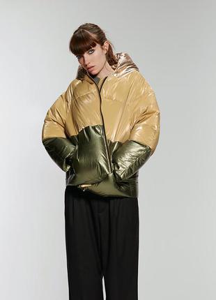 Стильная  зимняя куртка zara