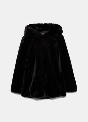 Жакет /пальто из искусственного zara