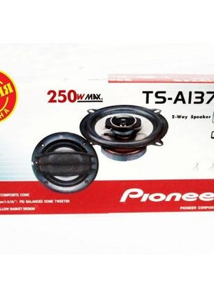 Автомобильная акустика колонки Pioneer TS-A1374S (250W) 13см