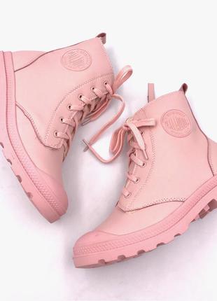Ботинки palladium pampa hi zip(зима)