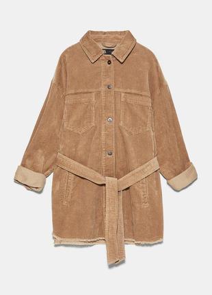Куртка вельветовая  zara