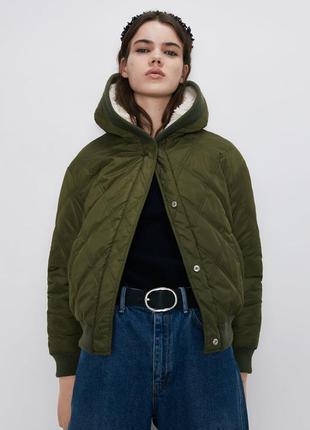 Двусторонняя куртка zara