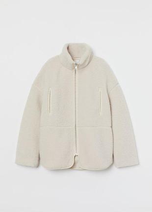 Куртка с высоким воротником h&m