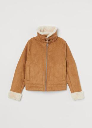 Куртка на подкладке h&m