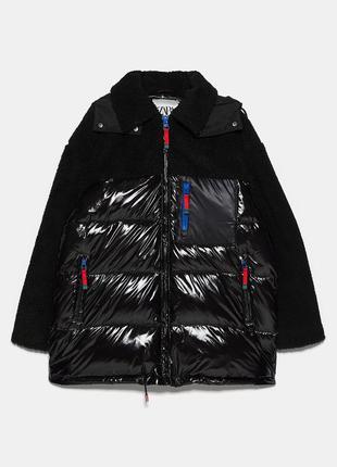 Водоотталкивающая куртка/пуховика zara