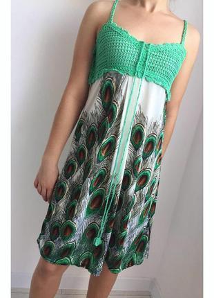Платье, плаття, легкое платье.
