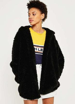 Теплая стильная кофта шубка пальто тедди с капюшоном  от urban...