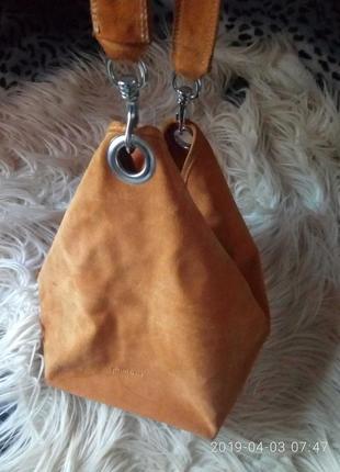 Стильная итальянская натуральная сумка dimoni