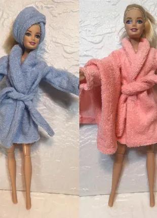 Одежда для Барби-махровый халатик