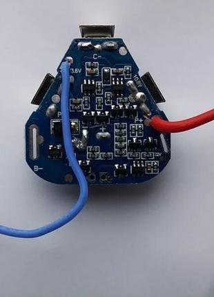 BMS Контроллер (Плата защиты) 12.6,16.8,21V Li-Ion 18650 3S/4S...