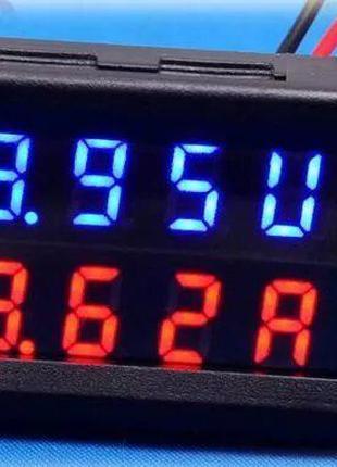 Вольтметр / Амперметр 0.01-100V (10А,20А,50A) Шунт встроен в п...