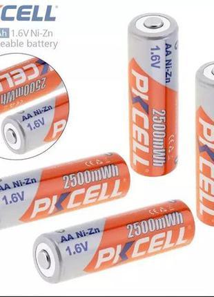 Аккумулятор PKCELL 1.6V Ni-Zn 2500 mWh AA AAA/Зарядка.Новая те...