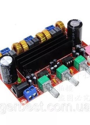 Аудио Усилитель трехканальный (сабвуфер), XH-M139 TPA3116D2 2....