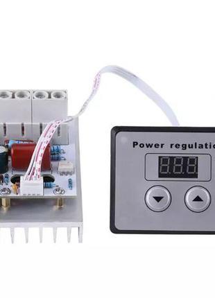 Диммер с цифровым управлением, регулятор напряжения 10000W, AC...