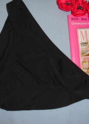 Низ от купальника женские плавки размер 50-52 / 18 черный бикини