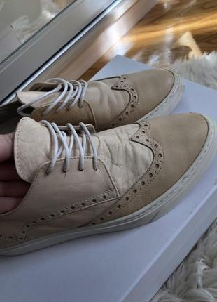 Туфли шикарные, английский бренд duna black кожа