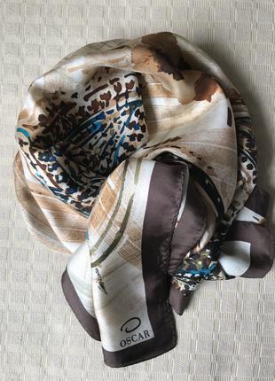 Шёлковый платок от Oscar de la Renta