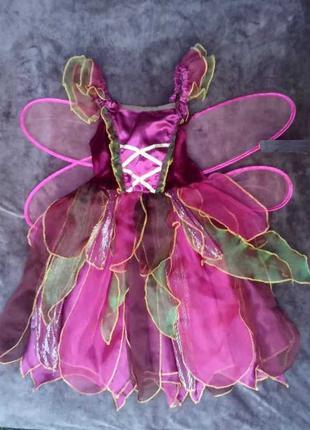Карнавальный костюм Бабочка Вишенька для девочки 5 - 6 лет
