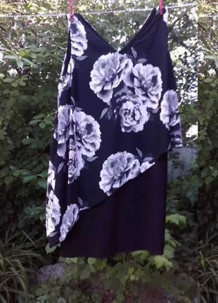Платье нарядное размер 56 - 58 Хризантема