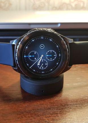 Смарт часы Gear S2 Classic 735v Динамик Микрофон esim