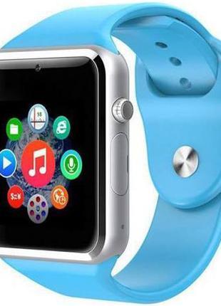 Детские смарт часы Smart Baby Watch L98 Голубые с GPS-трекером