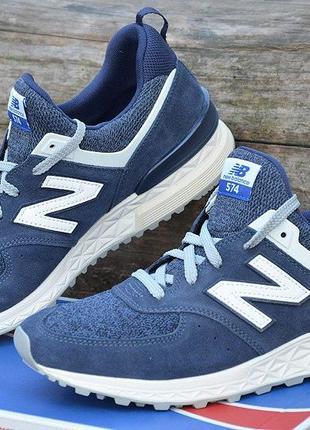 Оригинал new balance кроссовки синие 574 sport, ms574bb, разме...