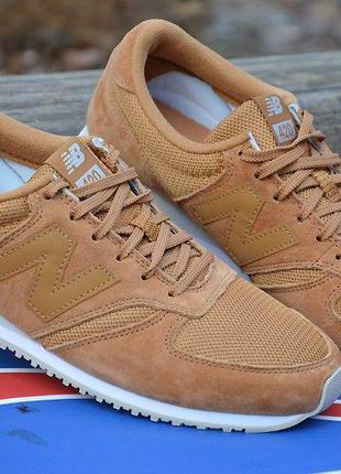 Оригинал  new balance! мужские коричневые кроссовки 420 модель...