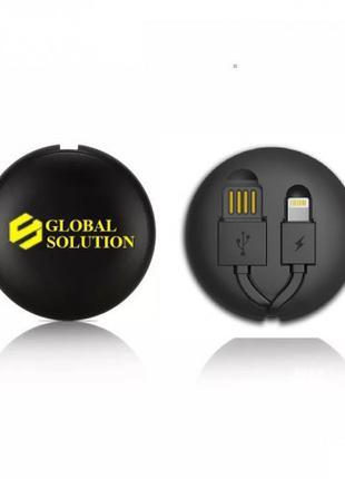 Кабель (зарядка) USВ для IPhone/iPad/micro USB Global Solution