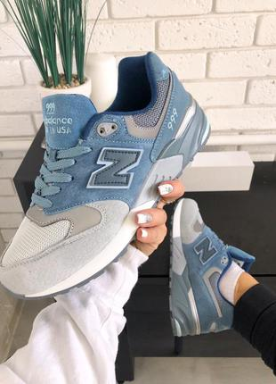 New balance 999 grey blue
