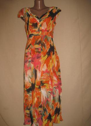Шифоновое платье per una р-р12l.