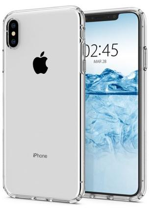 Чехол Spigen Liquid Crystal для iPhone XS Max  Crystal Clear