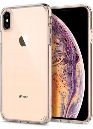 Чехол Spigen Ultra Hybrid для iPhone XS Max  Crystal Clear