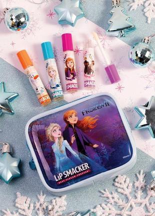 "Lip smacker набор блески для губ с героями мультфильма ""холодн..."