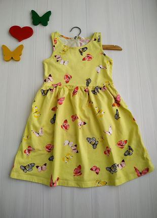 4-6 лет платье h&m