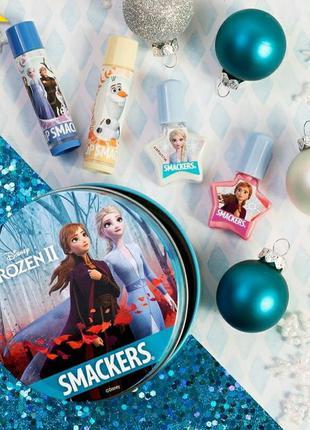Lip smacker набор для губ и ногтей lip & nail set с героями му...