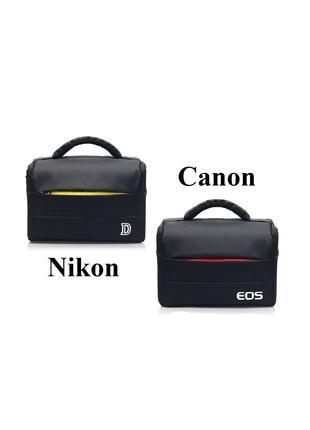 Чехол-Сумка фотоаппарата Nikon, Canon, Никон, Кэнон сумка фото...