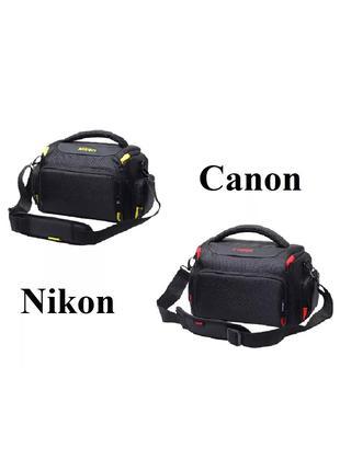 Чехол-Сумка Nikon, Canon фото сумка Никон, Кэнон оригинал