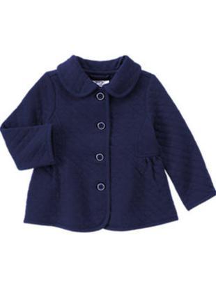 #розвантажуюсь утепленный жакет пиджак gymboree, размер 12-24