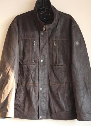 Кожаная куртка engbers 52-54