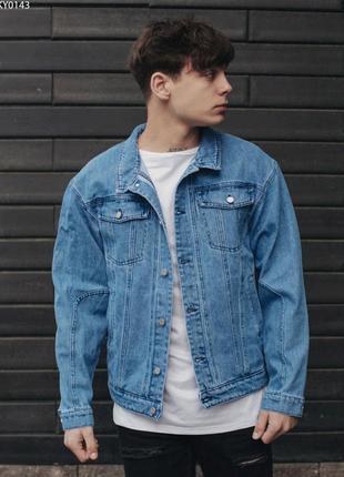 Джинсовая куртка staff blue c2